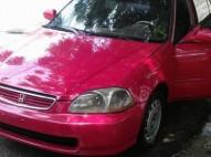 Honda civic 1999 rojo