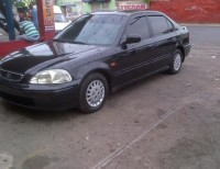 Honda civic 2000 ferio color negro optimas condiciones