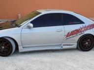 Honda civic 2001 cupe gris plta