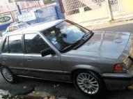 Honda civic 86 gris