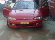 Honda civic 92 rojo