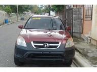 Honda cr-v roja 2003