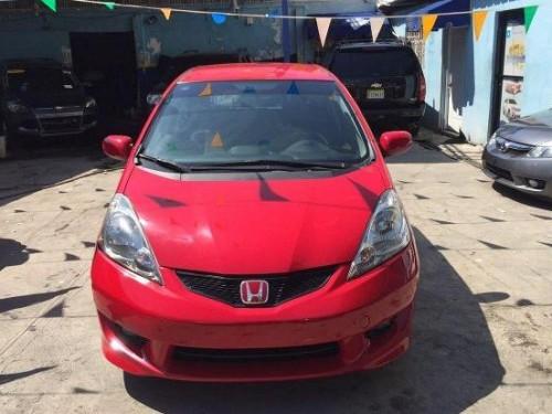 Honda fit sport, americana, roja, aros, halog