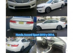 Honda Accord 2013 Sport Blanco Motor V4 Recién Import