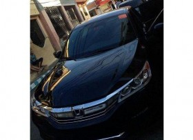 Honda Accord Sport 2016 Negro Full