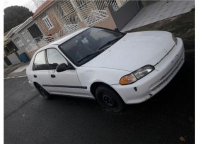 Honda Civic ′93 blanco 550 OMO