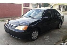 Honda Civic 2002 Negro Américano LX