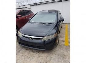 Honda Civic 2008 Negro Full EX con sunroof