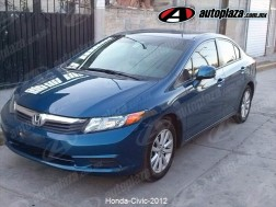 Honda Civic 2012 4p Dmt Ex Sedan 5vel