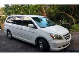 Honda Odyssey EX 2007 6495 85000 millas
