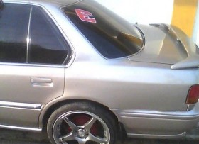 Honda accord 1993 color gris