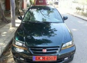 Honda accord 2001 verde botella