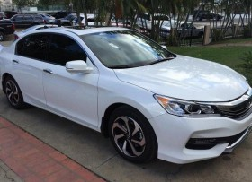 Honda accord 2016 ex-l v6