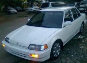 Honda civic 1988 blanco perla