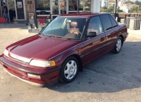 Honda civic 1990 4 puertas