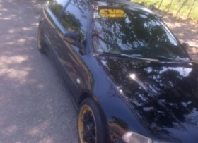 Honda civic 94 negro