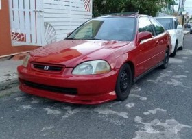Honda civic coupe 99