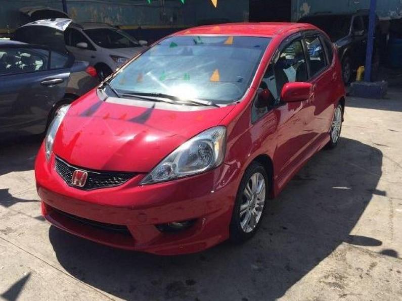 Honda fit sport americana roja aros halog