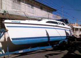 Hunter 26′ Bote de vela se cambia por Hummer