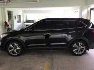 Hyundai Gran Santa Fe 2015 Negra