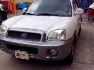 Hyundai Santa Fe 2003 Blanca