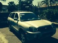 Hyundai Santa Fe 2003 Gris