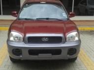 Hyundai Santa Fe 2004 Rojo