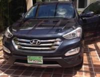 Hyundai Santa Fe 2013 todavía en garantía