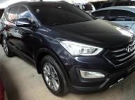 Hyundai Santa Fe 2015 piel 3 filas de asientos