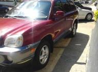 Hyundai Santa fe 2003 Roja