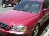 Hyundai elantra 2006 color rojo