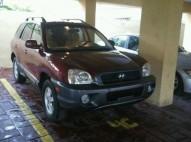 Hyundai santa fe 2004 color roja