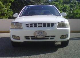 Hyundai Accent 2001 Semi Full Blanco