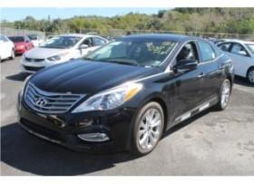 Hyundai Azera 4pta Negro