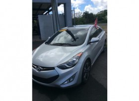 Hyundai Elantra 2013 coupe poco millaje