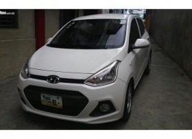 Hyundai GRAND i10 2015 BLANCO