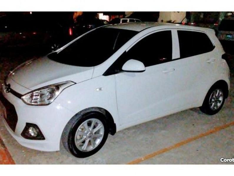 Hyundai GRAND i10 2015 BLANCO