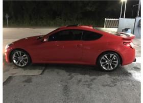 Hyundai Genesis RSpec 2013 Rojo Standard