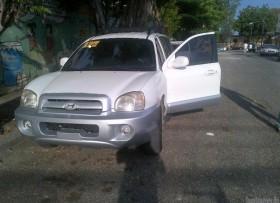 Hyundai Santa Fe 2001 super carro en venta
