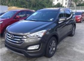 Hyundai Santa Fe pagos de 399 y 0 pronto