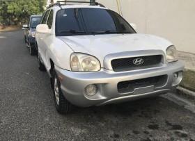 Hyundai Santa fe 2002 blanca