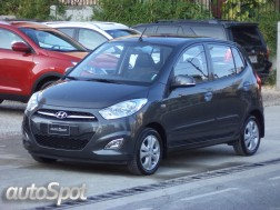 Hyundai i10 2012 Full Gris Plomo 13600 Kms Garantía De La