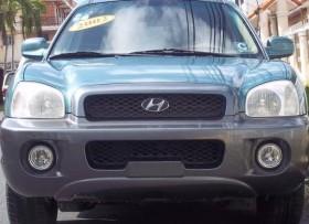 Hyundai santa fe 2001 con gas natura