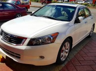 IMPECABLE Honda Accord EX-L 2008 Full V6 - Blanco NEGOCIABLE