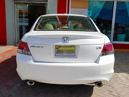 IMPECABLE Honda Accord EX-L 2008 Full V6 - Blanco NEGOCIABLE