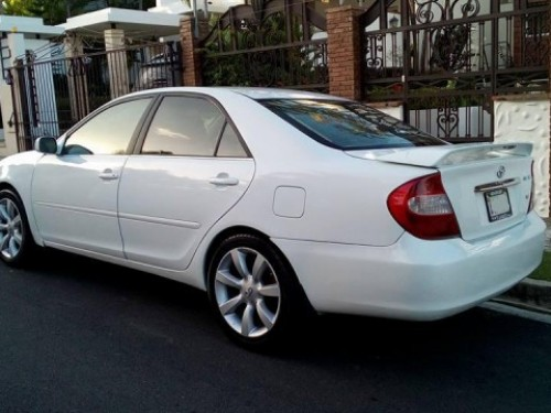 IMPECABLE!! TOYOTA CAMRY Blanco USA 04 elect full, aire