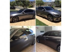 "Infiniti Q50 aros 20"" 15K millas Leather"