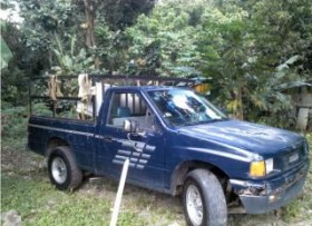Isuzu pick up 1988 cv o ck