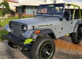 JEEP WRANGLER 1995 RESTAURADO TOTAL