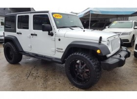 JEEP WRANGLER 2016 UNLIMITED SPORT 4X4
